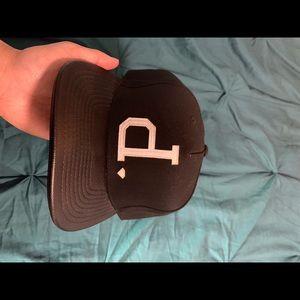 Diamond Supply Co Strapback Hat Leather Bill